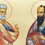Predica Părintelui Mina la Praznicul Sfinților apostoli Petru și Pavel – 29 iunie 2020