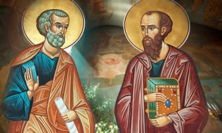 Predica Părintelui Ciprian Ioan Staicu la praznicul Sf. Ap. Petru și Pavel – 29 iunie 2020