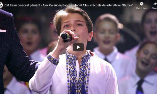 """Cât traim pe-acest pământ – Alex Calancea Band, Ștefănel Albu și Școala de arte """"Alexei Stârcea"""""""