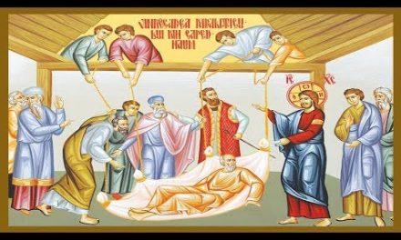 Predica Părintelui Ieronim la Duminica Vindecării Slăbănogului din Capernaum – 19 iulie 2020
