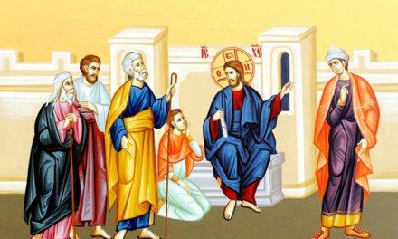 Predica Părintelui Antonie la Duminica a XII-a după Rusalii – EVANGHELIA ÎNTREBĂRII ESENȚIALE – 30 august 2020