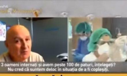 Un doctor face praf mass-media mincinoasă și se strâmbă la aberațiile aserviților sistemului