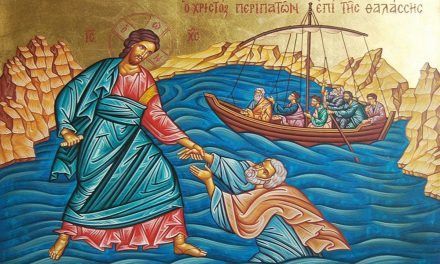 Predica Părintelui Ieronim la Duminica a 9-a după Pogorârea Sfântului Duh – Umblarea pe mare – Potolirea furtunii – 9 august 2020