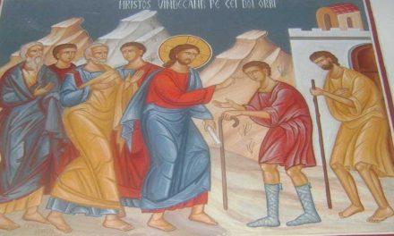 Predica Părintelui Ieronim la Duminica vindecării a doi orbi și a unui mut din Capernaum – 26 iulie 2020
