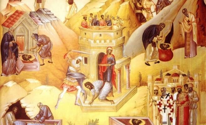 29 august: pomenirea Tăierii cinstitului cap al Sfântului, Slăvitului Prooroc Ioan, Înaintemergătorul și Botezătorul Domnului