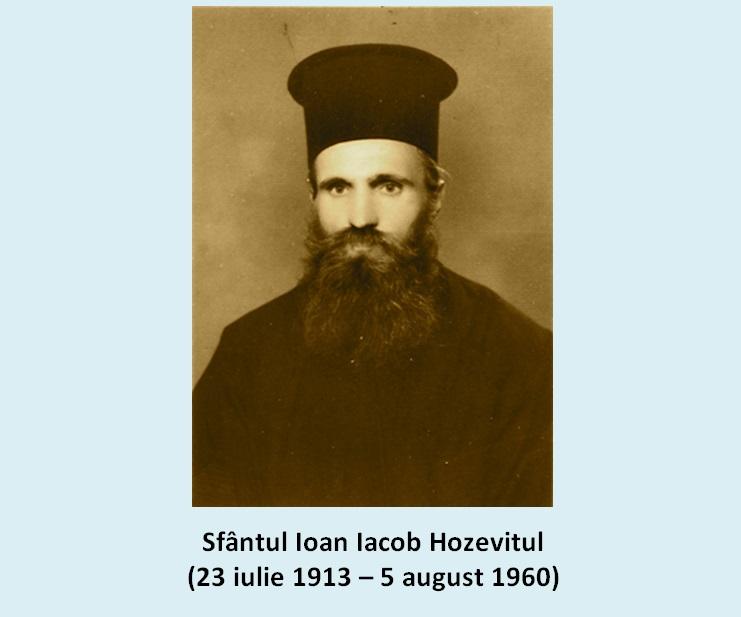 SFÂNTUL IOAN IACOB HOZEVITUL – GRAIURI PROFETICE