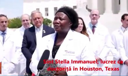 EXTREM DE IMPORTANT! – Doctori americani din linia întâi a luptei contra coronavirusului spun adevărul despre leacul acestei boli. Mărturia Doctorului Stella Immanuel din Texas.