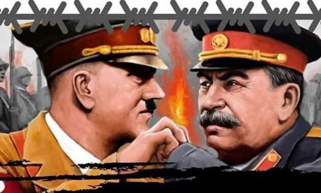 81 de ani de la semnarea odiosului Pact Hitler-Stalin, cunoscut în istorie ca Pactul Ribbentrop-Molotov.