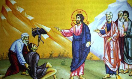 Predica Părintelui Xenofont la Duminica a X-a după Pogorârea Sfântului Duh – Vindecarea lunaticului – 16 august 2020