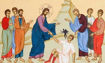 Predică Părintelui Ieronim la Duminica a 10-a după Pogorârea Sfântului Duh – Vindecarea lunaticului – 16 august 2020