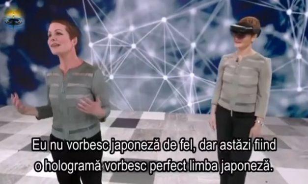 Un exemplu banal de aplicație a inteligenței artificiale – holograma