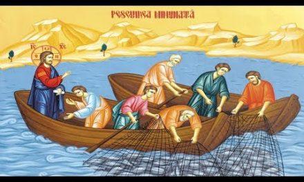 Predica Părintelui Ieronim la Duminica a 18-a după Pogorârea Duhului Sfânt (Pescuirea minunată)  – 27 septembrie 2020