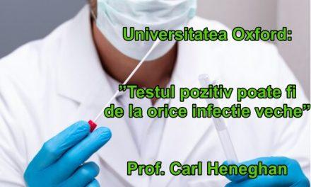 """Universitatea Oxford dă verdictul final: """"Numărul îmbolnăvirilor de covid este fals!"""", relatează BBC"""