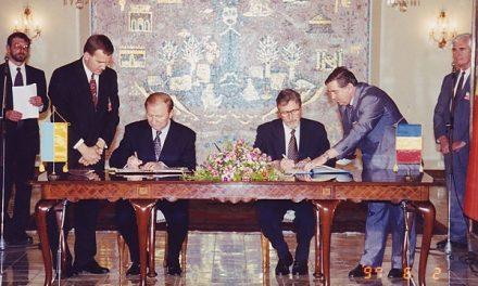 DEZVĂLUIRI din culisele SRI și CIA: Constantinescu și Severin au vândut românii din Ucraina și pământul strămoșesc pentru o himeră creată chiar de ei: marota intrării României în NATO la Summitul de la Madrid condiționată de Tratatul cu Ucraina