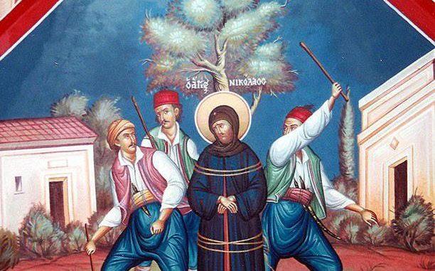 Să luăm aminte astăzi: Constantinopolul a căzut din cauza ereziei. Sfinții nu se uneau cu ereticii. Din cauză că nu a vrut să participe la liturghia oficiată în catedrala Sfânta Sofia, de patriarhul de Constantinopol dimpreună cu reprezentantul papei, cardinalul Isidor, de ziua Sfântului Spiridon (12 decembrie), cuviosul Rafail este exilat de împăratul Constantin în insula Enos împreună cu ucenicul său