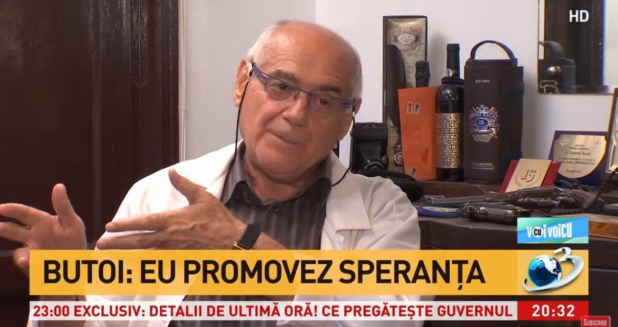 """Psihologul criminalist prof. dr. Tudorel Butoi, interviu la """"Voi cu Voicu"""" – 17 octombrie 2020"""