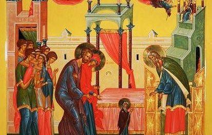 Predica Părintelui Ieronim la Intrarea în Biserică a Maicii Domnului – 21 noiembrie 2020