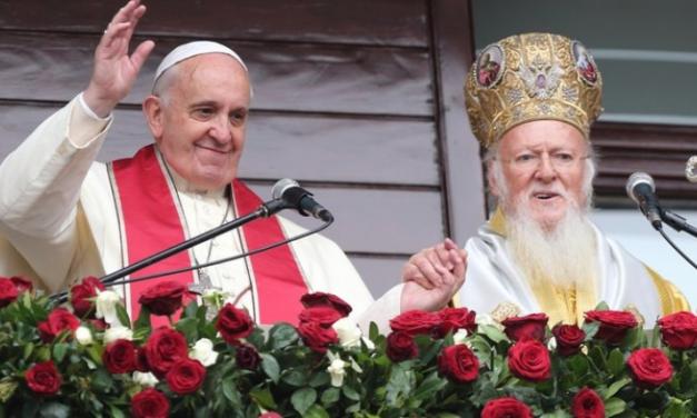 """Ereticul Bartolomeu anunță: Unirea ortodocșilor cu catolicii va avea loc """"în ciuda obiecțiilor celor care consideră ecumenismul o utopie"""""""