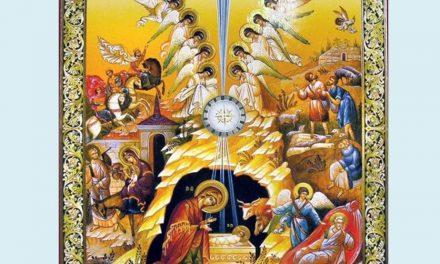 Predica Părintelui Xenofont la Sărbătoarea Nașterii Domnului – 25 decembrie 2020