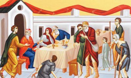 Predica Părintelui Ieronim la Pilda celor poftiți la cină – 13 decembrie 2020