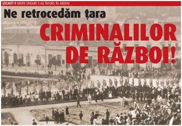"""În atenția SRI*: Ne retrocedăm ţara criminalilor de război! Dr. Ilie Gherheş: """"Statul Român se află în faţa unei mari escrocherii istorice"""""""