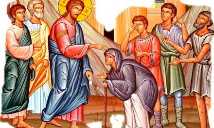 Predica Părintelui Antonie la Tămăduirea femeii gârbove și praznicul Sfântului Nicolae – 6 decembrie 2020