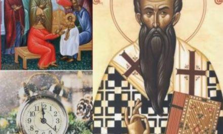 Părintele Antonie – Cuvânt de învățătură de Anul nou – 1 ianuarie 2021