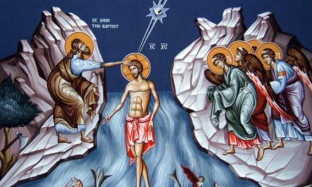 Predica Părintelui Andrei la praznicul Botezului Domnului – 6 ianuarie 2021