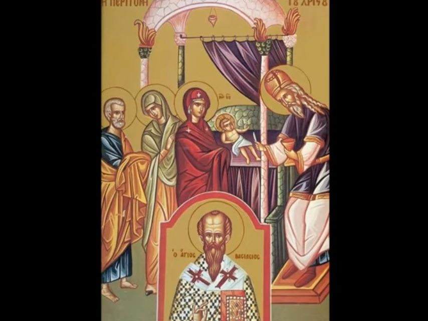 Predica Părintelui Ieronim la Tăierea împrejur cea după trup a Domnului; Sfântul Ierarh Vasile cel Mare – 1 ianuarie 2021