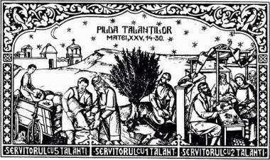 Predica Părintelui Xenofont la Duminica a XVI-a după pogorârea Sfântului Duh (Pilda talanților) – 7 februarie 2021