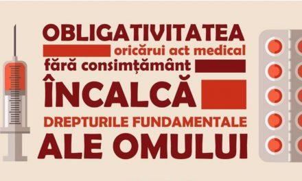 Alianța Părinților, Calea Neamului, Stare de Libertate, NeamUnit, Atitudini și Bucovina Profundă – doar câteva dintre asociațiile care participă la protestul de duminică împotriva obligativității vaccinării. TU CE MAI AȘTEPȚI?