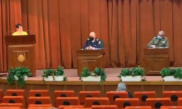Dezbaterea publică la MAPN pentru proiectul de lege privind atribuțiile, organizarea și funcționarea Poliției Militare – 11 martie 2021 (video – prima parte)