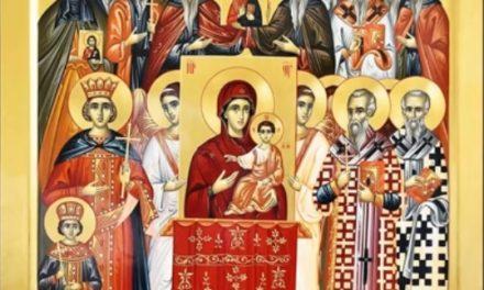 Predica Părintelui Ieronim la Duminica Ortodoxiei – 17 martie 2019