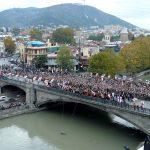 """""""Podul celor o sută de mii de mucenici ai Tbilisului"""" sau """"Podul mucenicilor"""""""