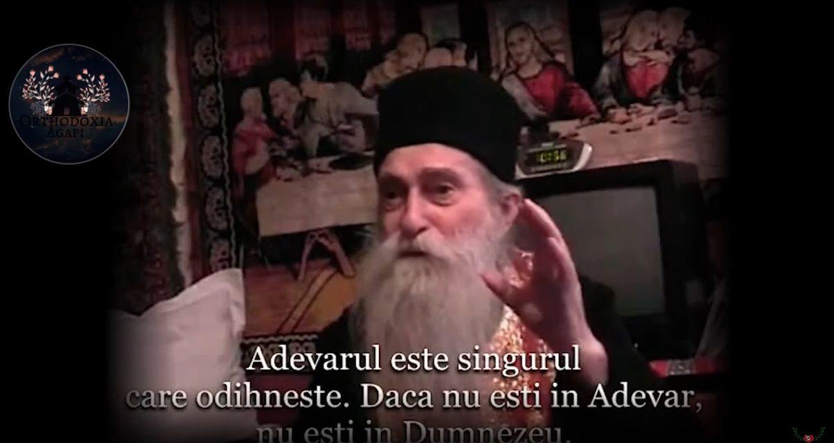 """""""Adevărul este singurul care odihnește. Dacă nu ești în Adevăr, nu ești în Dumnezeu."""" – Pr. Arsenie Papacioc"""