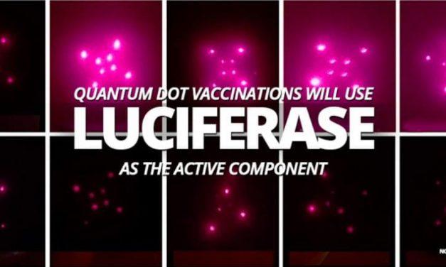 """Bill Gates construiește ceva ce numim """"sistemul uman implantabil quantum dot microneedle de vaccinare"""", și are nevoie de o enzimă numită Luciferază pentru a o face să funcționeze. Scoateți cuvântul """"uman"""" și devine 666."""