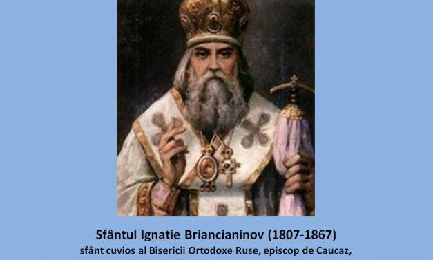 """Sufletul drept este soţul smereniei. Iar cel viclean este slujitorul mândriei."" – Sf. Ignatie Briancianinov"