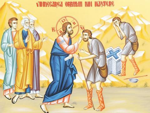 Predica Părintelui Andrei la Duminica orbului din naștere – 6 iunie 2021