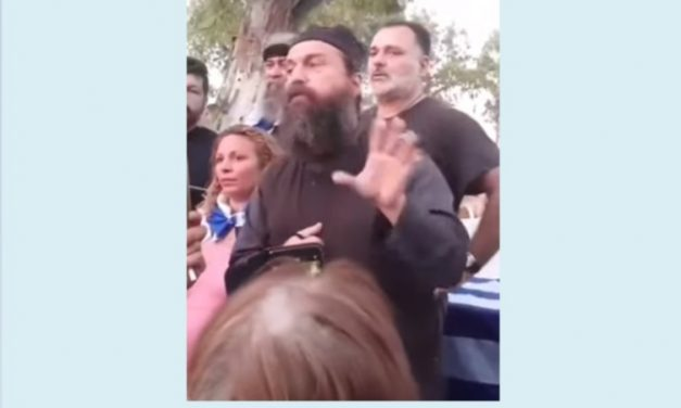 Mesajul lui Gheron Savva Lavriotul la mitingul din Heraklion (Creta) împotriva vaccinării obligatorii – 15 iulie 2021