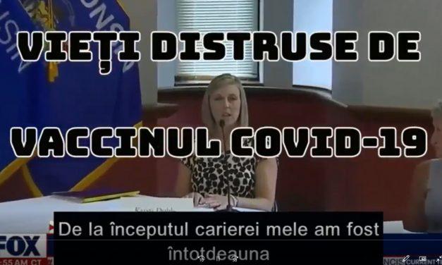 Vieți distruse de pseudo-vaccinul anti Covid-19 (video)