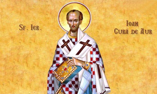 """""""Nu trebuie să ne pară rău pentru cei care sunt încercaţi şi suferă, ci pentru cei care în vreme ce păcătuiesc nu sunt pedepsiţi."""" – Sf. Ioan Gură de Aur"""