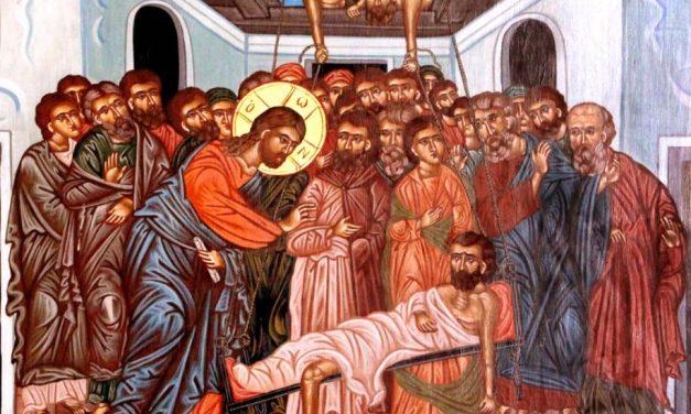 Predica părintelui Ieronim la Vindecarea slăbănogului din Capernaum – 1 august 2021