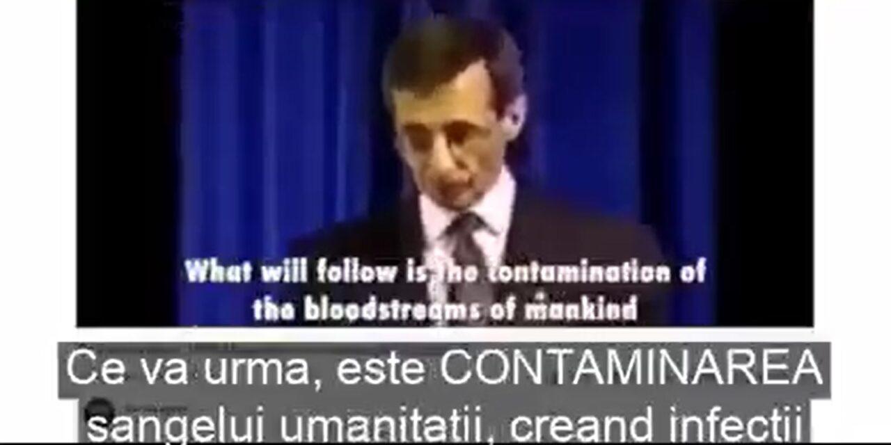 """Declarația publică din anul 1995 a Prof. Pierre Gilbert – despre """"CONTAMINAREA sângelui umanității creând infecții INTENȚIONATE."""""""