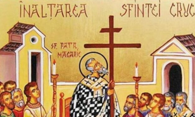 Cuvânt de învățătură al Părintelui Andrei la duminica dinaintea Înălțării Sfintei Cruci – 12 septembrie 2021