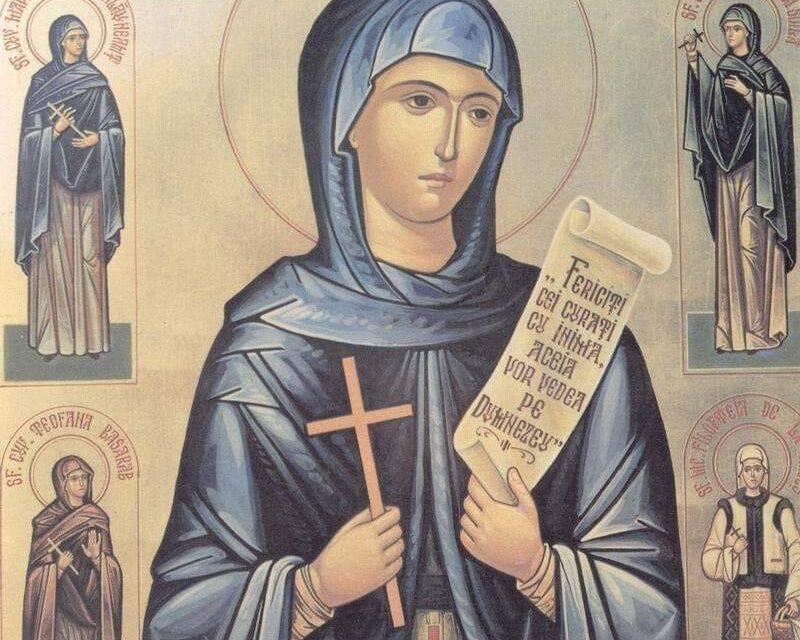 14 octombrie – pomenirea Sfântei Cuvioase Parascheva